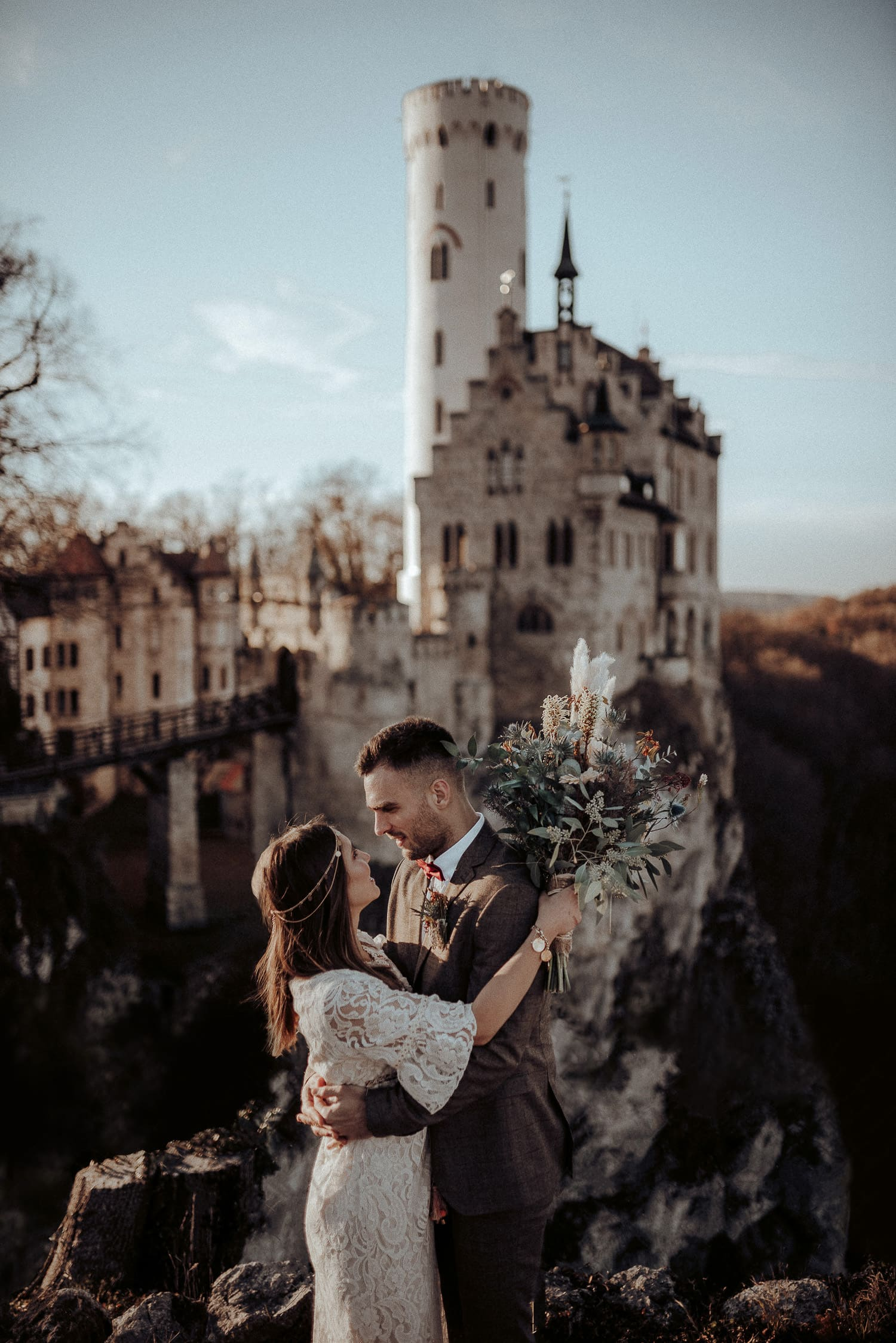Hochzeitsfotograf Schloss Lichtenstein