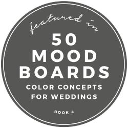 50 MOOD BOARDS for Wedding